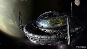 Concept de station orbitale – Tebah