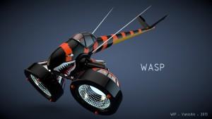 Concept de vaisseau – WASP