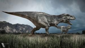 Tyrannosaures dans la pampa