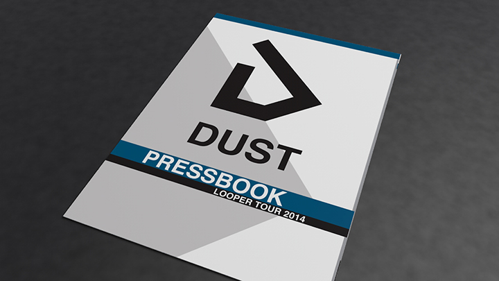DUST – Logo, Pressbook, Shooting..