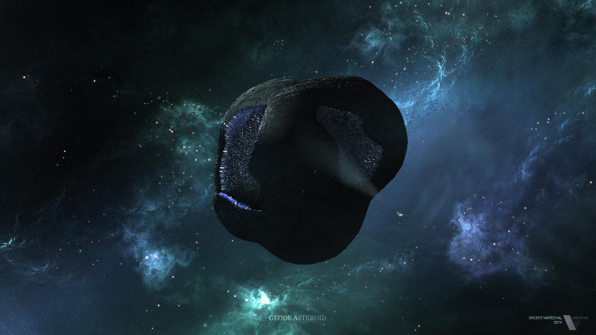 Astéroide Géode