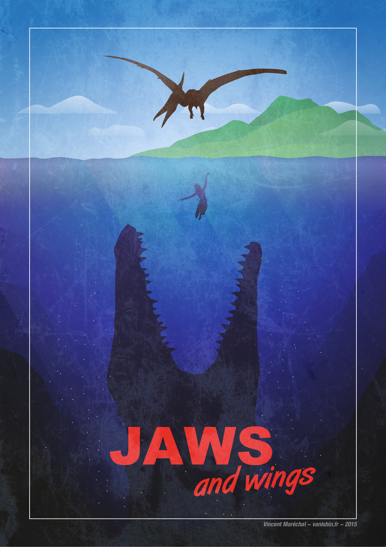 Jurassic World – JAWS tribute
